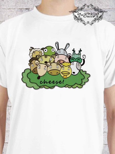 客製化短T-shirt