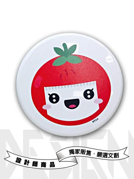 小番茄圓形鏡盒