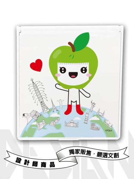 小蘋果矩形鏡盒