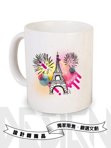 法國巴黎馬克杯