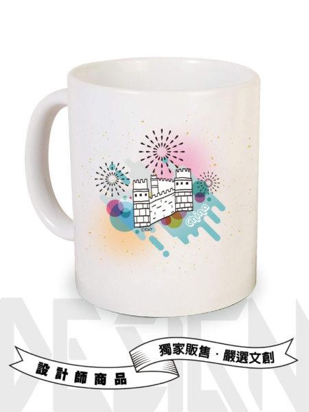 中國萬里長城馬克杯