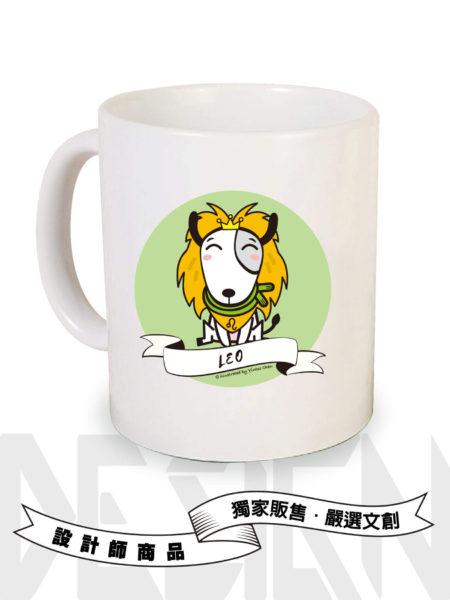 狗狗12星座-獅子座馬克杯