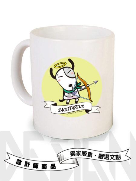 狗狗12星座-射手座馬克杯