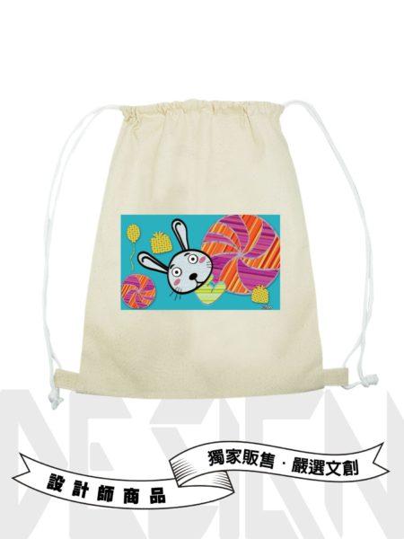 12生肖-兔後背束口袋