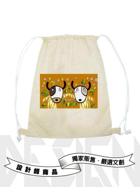12生肖-狗後背束口袋