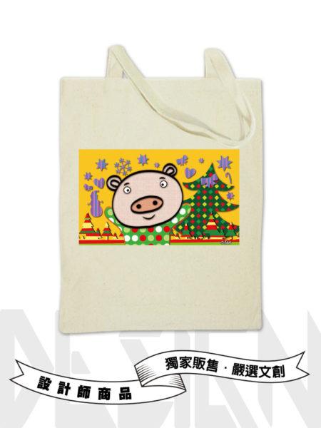 12生肖-豬手提袋