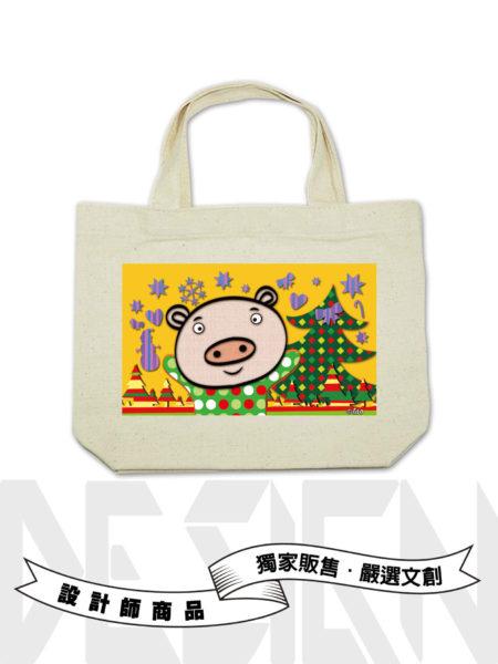 12生肖-豬小提袋