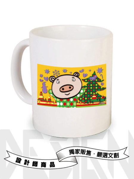 12生肖豬-馬克杯