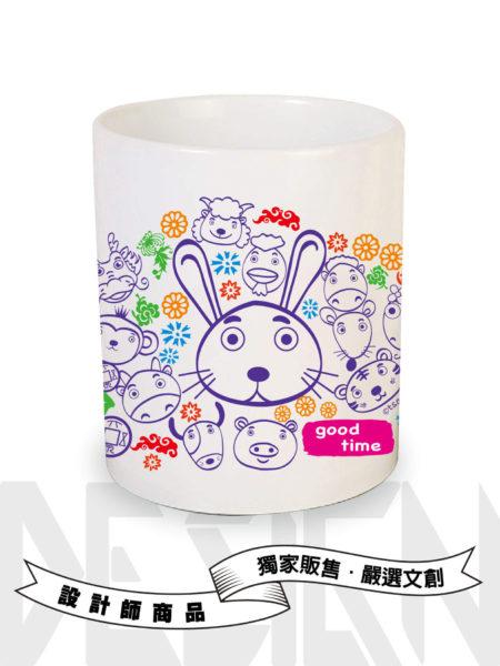 12生肖系列-兔-馬克杯