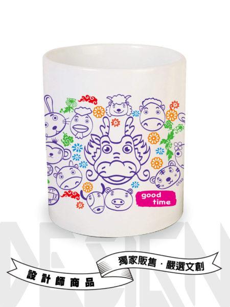 12生肖系列-龍-馬克杯