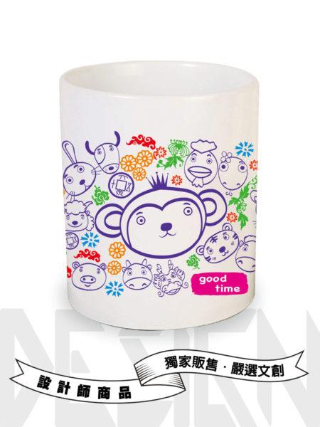 12生肖系列-猴-馬克杯