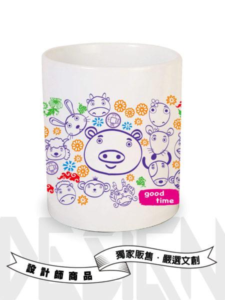 12生肖系列-豬-馬克杯